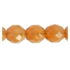 Fire Polished 10mm Beige Opal